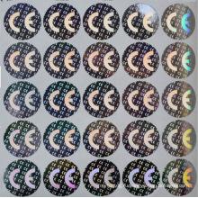 удостоверение личности избирателя с стикер hologram