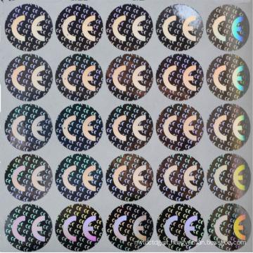 cartão de identificação de eleitor com etiqueta de holograma