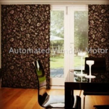 Automated Window Panel Motor Blind