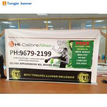 Na promoção de venda Banner, Bandeiras de Banner barato, Pano de fundo personalizado