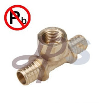Forging Low lead brass pex fitting factory