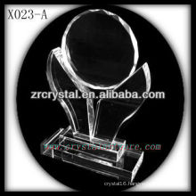 attractive design blank crystal trophy X023-A