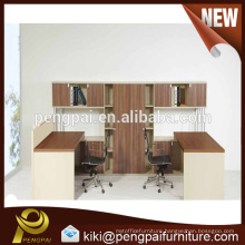 Excellent quality low price melamine partitions office staff desk