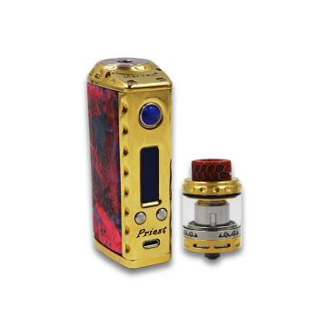 TC Box MOD e cigarette 75W Vape with US GENE chip 510 Mechanical Mod Fit 18650 20700 21700