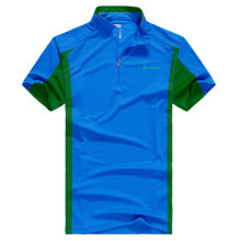 Großhandel OEM Casual Dry Fit Sport Zip up Polo Shirt