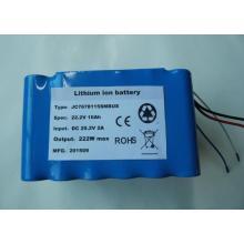 Factory customized 22.2V 10Ah li-ion battery pack