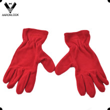 Promocional Warm Five Finger Fleece Luva