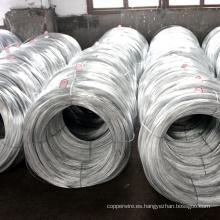 Cuerda de alambre de acero revestida de cinc de acero del metal
