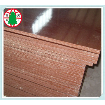 Outside used brown film laminated  construction plywood