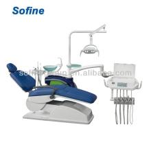 Silla dental dental inteligente silla de la unidad con la unidad dental ISO del CE 2013