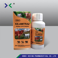 Amitraz 12.5% ​​Insecticide Cattle and Pet