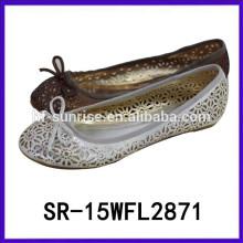 2015 zapatos tallados de la chica joven zapatos de encargo de la manera calza la importación al por mayor