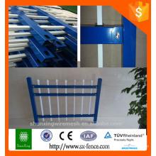 galvanized powder coating iron fence