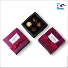 Горячий продавая изготовленный на заказ handmade выдвижного ящика шоколад бумажные коробки