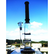Top Selling High Quality Three Layers Honeycomb Percolator Smoking Glass Water Pipe with Factory Price