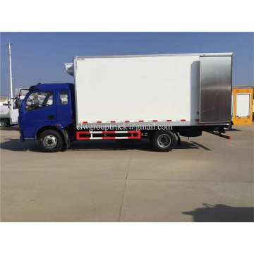 DFAC Loading Reefer Frozen Box Truck