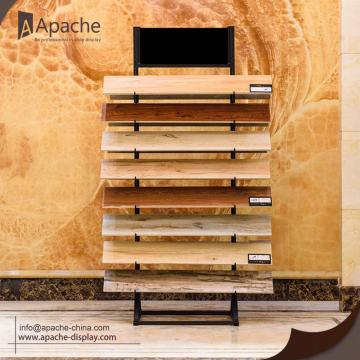 Metal Ceramic Tile Display Shelf for Superstore