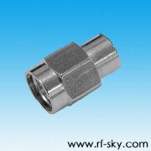Tipo do Roundness SMA de DC-6GHz 0.5W rf carga do manequim de 50 ohms