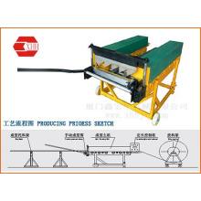 Kls25-220-530 Портативная машина для производства кровельных панелей со стоячим швом