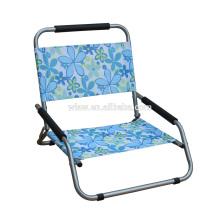 Lazer Portátil Stable Confortável Diretor Cadeira Dobrável de Acampamento De Piquenique De Pesca Cadeira De Praia Dobrável