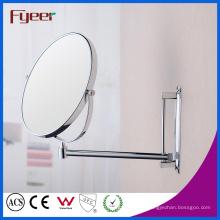 Espelho cosmético do volume de negócios de Fyeer Espelho redondo da parede da composição (M0158)