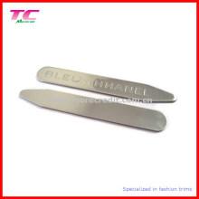 Classic Customized Logo Metal Collar Stay pour les chemises de marque haut de gamme (TC-OT1001)