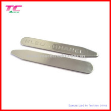 Classic Customized Logo Metal Collar Stay for High-End Brand Shirts (TC-OT1001)