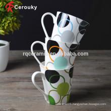FDA LFGB BSCI SEDEX approved fine porcelain mugs