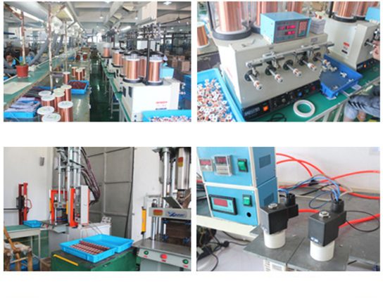 Production of solenoid coils for Five way three position Solenoid Valves
