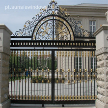 Alumínio Lockable Secure Garden Gates