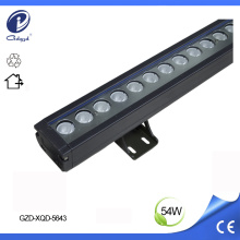 Arandela de pared LED lineal de 54W color azul