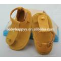 Zapatos de bebé suaves del cuero genuino para la niña
