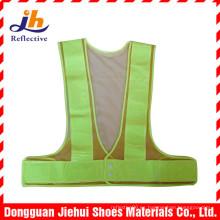 Alta visibilidad ropa chaleco reflexivo de la seguridad de la construcción