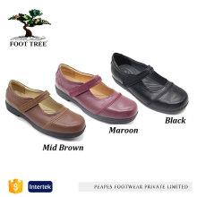 Komfort Leder Frauen Mary Jane Schuhe
