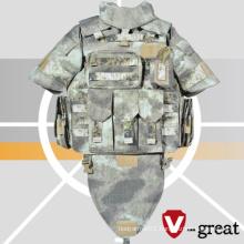Twaron Bulletproof Jacket Nij 0101.06 Certified Full Protection Twaron Bulletproof Jacket
