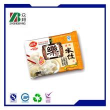 Back Seal Frozen Food Packaging Bag for Dumpling