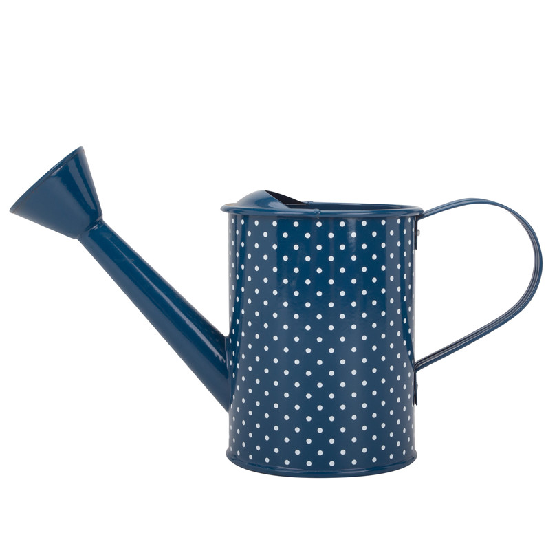 Cute watering can for decorating the garden