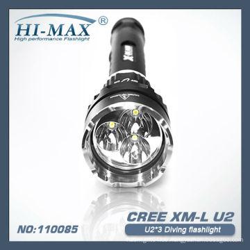 X-Beam CREE U2X3 LED Tauchen Taschenlampe