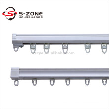 White sliding silent flexible PVC Germany curtain industrial rails tracks for sale