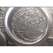 A gaiola de aço inoxidável do saco de filtro comply com o saco de filtro para a indústria de cimento
