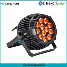 Im Freien DMX 12PCS 14W imprägniern LED Lichter Rgbawv 6-in-1 LED PAR-Licht