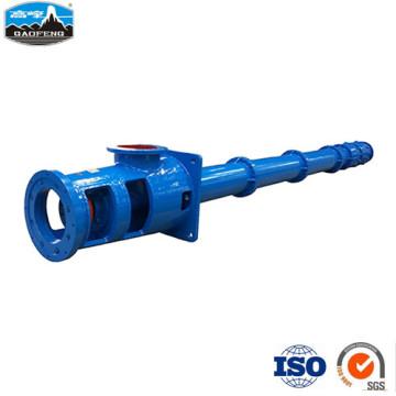 Вертикальный длинный канализационный насос с погружным поддоном