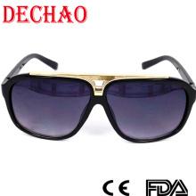 2015 aktualisiert Designer Damen-Sonnenbrille mit Metall Zubehör Spitzenqualität