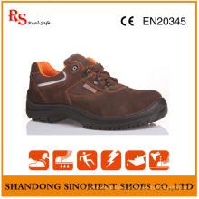 Deltaplus Suede Leather Engineering Sapatos de segurança de trabalho Preço