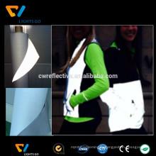 EN471 Tissu polyester réfléchissant haute visibilité Pour gilet de sécurité