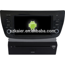 Multimedia del coche de la pantalla capacitiva de Android 4.1 para Fiat Doblo con GPS / Bluetooth / TV / 3G / WIFI