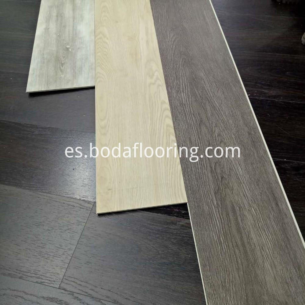 Simple Color Spc Plank Flooring