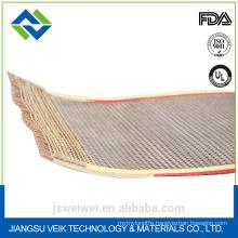 fireproof pu foam material conveyor belt for transmission