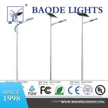 Luz de rua híbrida solar do diodo emissor de luz do vento 60W