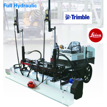 High Technology Concrete Levelling Machine With Trimble Laser